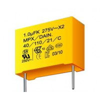 供应原厂岱恩DAIN安規X2電容器 1.0UF/275V