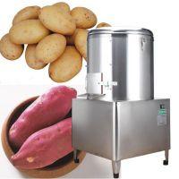 饭店酒店专用小型土豆去皮机 河南土豆去皮机