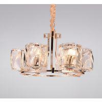 设计定制餐厅现代风格水晶LED吊灯