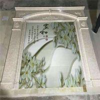3d立体地板瓷砖喷绘机 瓷砖电视背景墙打印机