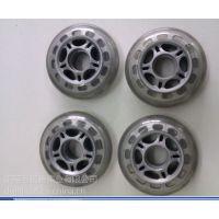 工厂直销弹性橡胶轮1.5,2,3,4,5,6、7、8、9、10寸聚氨酯PU箱包脚轮、医疗轮椅轮