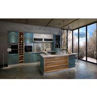 金钢小厨家用不锈钢整体厨柜 304橱柜 不锈钢灶台不锈钢橱柜 设计定制
