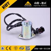 供应pc300-7液压泵电磁阀 6D102旋转电磁阀206-60-51130 日本全新进口品质