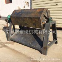 滚筒研磨机 玉石抛光机 宏瑞铁件去漆面滚筒打磨设备