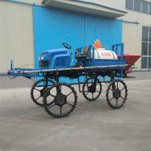 供应XY-500L自走式喷杆喷雾器大型四驱打药机农用柴油喷药车