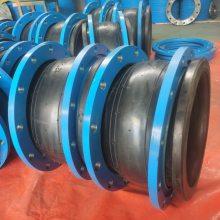 福建消防专用不锈钢膨胀节 DN400 PN2.5高压耐酸碱120度高温橡胶接头质保一年