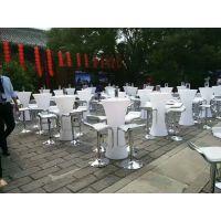 北京升降桌椅租赁吧桌吧椅租赁 高脚桌租赁量大质优