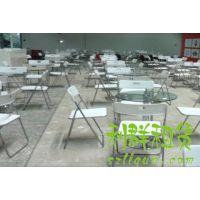 深圳南山龙岗宝安福田罗湖红色白色折叠椅会议椅展会椅出租赁