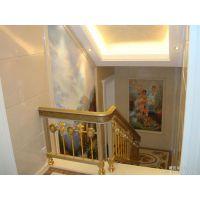铜升铜装饰系列之铜楼梯扶手价格可供定制