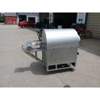 干货花生炒货机 100斤电加热滚筒炒锅