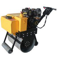 修远机械小型压路机振动手扶式单轮压路机柴油厂家直销路面压实机