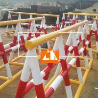 河北安平厂家定制 防撞路障 挡车护栏 重型拒马 移动护栏 可加工定制
