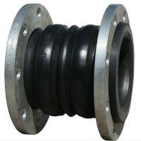 直销化工管道大口径法兰连接橡胶软连接 耐腐蚀耐酸碱橡胶接头