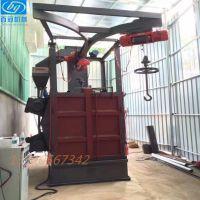 深圳厂家供应吊钩式自动抛丸机自动喷砂机手动喷砂机现货销售