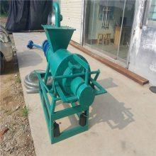 家用粪污处理固液分离机 有机肥设备牛粪脱水机