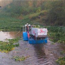 科大全自动水草清理打捞船 收割水葫芦机械