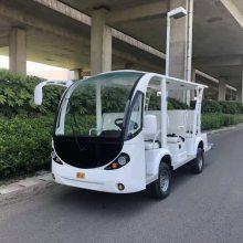 好力LK-T11敞开式11座电动观光车,苏州吴江房产看房车