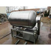 腌制用不锈钢真空滚揉机 哈尔滨红肠腌制肉料设备