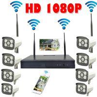 200万无线监控摄像头套装 8路无线监控 Wireless Outdoor CCTV IP