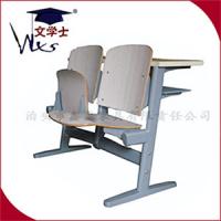 文学士板式阶梯教室课桌椅 多媒体教室座椅供应厂家