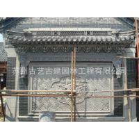 砖雕价格 中式泥塑人物砖雕 古建青砖雕刻报价