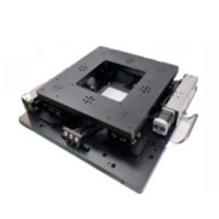 供应250*250视觉对位平台 UVW电动微调架 模组 XYY微调架