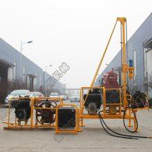 分体式气动潜孔机 便携式山地钻机价格 鲁恒冲击式钻机