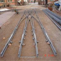 单开道岔 窄轨道岔厂家加工定做 DK624-4-12 ZDK630-4-12