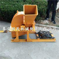 泰安联民供应移动木材切片机 树枝树杈削片机
