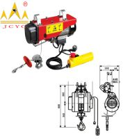 New Standard Mini Electric Wire Rope Hoist