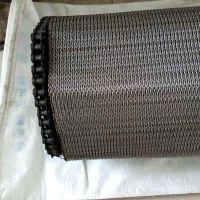 不锈钢人字形网带订制 行业典范乾德耐高温烧结炉输送网带