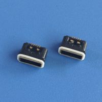 A型/MICRO母座 迈克防水USB插座 方型口麦克防水母座 IP67等级 带防水胶圈