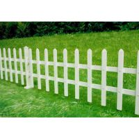 供应草坪护栏价格 绿化带PVC护栏 市政绿化塑料围栏