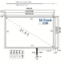 M-Touch嵌入式21.5寸4线16:9触摸屏工业显示器自助查询机自助购票机外屏