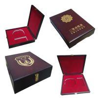 东莞市木制品生产厂家定制高档实木烤漆圆形金币盒子