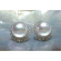 亚西亚珠宝【批发零售】-白珠耳钉,银饰批发,925银饰批发
