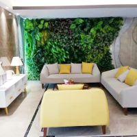 东莞紫萱工艺品仿真植物墙促销 室内外装饰墙绿植墙花墙背景墙植物墙批发