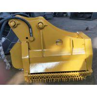 日立200挖机 6-50T 环保工程用河道除草机械 清扫大量杂草 各机型均可