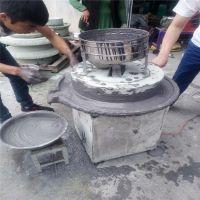 豆粉碾磨石磨机图片 2018麦饭石石磨机厂家 芝麻不锈钢盘石磨