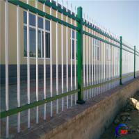 专业生产黑蓝锌钢护栏网 庭院护栏网 小区围墙市政园林
