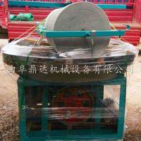 小麦麦麸分离电动石碾机 1.2米磨盘直径电动石碾