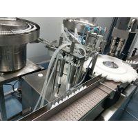 武汉药机参展的液体包装机 常压全自动外用药灌装机