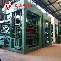 建材设备5-15型砖机 大型全自动免烧砖机 液压面包透水砖机设备