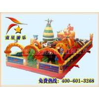 童星游乐 供应 充气城堡 品种多样 中小型游乐设备