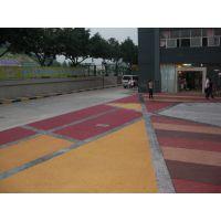 厂价供应各色彩色生态地坪 园林景观路