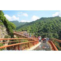 专业玻璃吊桥厂家 优质玻璃吊桥安装 重庆景区吊桥价格