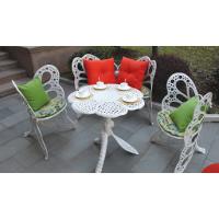 户外别墅家具 花园铸铝桌椅 阳台铸铝休闲椅
