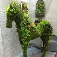 东莞哪里有厂家定制? 各种雕塑绿雕创意摆件 人造动物造型 公园广场 大型游乐园装饰 紫萱工艺品