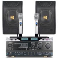狮乐200-250㎡会议音响套装K555A(功放)+ KTV88 (木制音箱) 固频U段无线麦克风