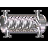 专利精品螺旋盘管换热器,列管冷凝冷却器,蒸汽分汽包分集水器